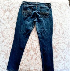 Levi's Denizen sz 18 med skinny shaping jeans
